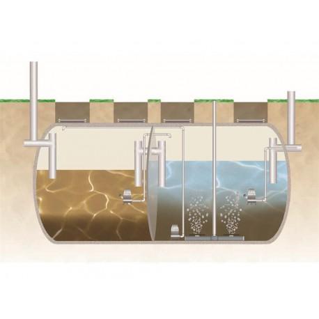Depuradora secuencial con eliminaci n de nutrientes para - Depuradoras de agua domesticas ...